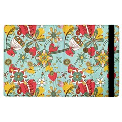 Flower Fruit Star Polka Rainbow Rose Apple Ipad 3/4 Flip Case by Mariart