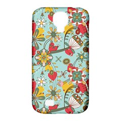Flower Fruit Star Polka Rainbow Rose Samsung Galaxy S4 Classic Hardshell Case (pc+silicone) by Mariart