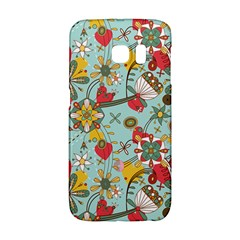 Flower Fruit Star Polka Rainbow Rose Galaxy S6 Edge by Mariart