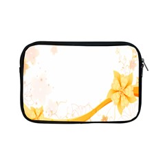 Flower Floral Yellow Sunflower Star Leaf Line Apple Ipad Mini Zipper Cases by Mariart