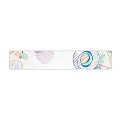Flower Rainbow Circle Polka Leaf Sexy Flano Scarf (mini) by Mariart