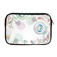 Flower Rainbow Circle Polka Leaf Sexy Apple Macbook Pro 17  Zipper Case by Mariart