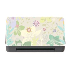 Flower Rainbow Star Floral Sexy Purple Green Yellow White Rose Memory Card Reader With Cf by Mariart