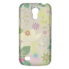 Flower Rainbow Star Floral Sexy Purple Green Yellow White Rose Galaxy S4 Mini