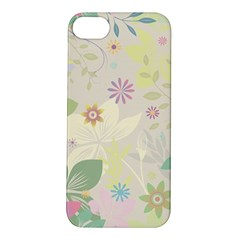 Flower Rainbow Star Floral Sexy Purple Green Yellow White Rose Apple Iphone 5s/ Se Hardshell Case by Mariart