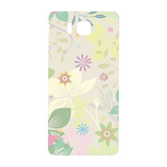 Flower Rainbow Star Floral Sexy Purple Green Yellow White Rose Samsung Galaxy Alpha Hardshell Back Case by Mariart