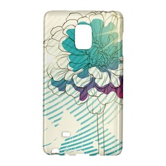 Flower Rose Purple Sunflower Lotus Galaxy Note Edge by Mariart