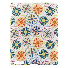 Flower Rainbow Fan Sunflower Circle Sexy Apple Ipad 3/4 Hardshell Case by Mariart