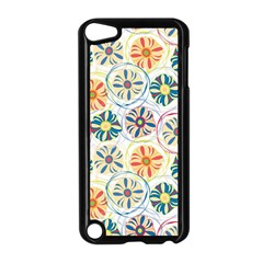 Flower Rainbow Fan Sunflower Circle Sexy Apple Ipod Touch 5 Case (black) by Mariart
