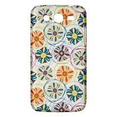 Flower Rainbow Fan Sunflower Circle Sexy Samsung Galaxy Mega 5 8 I9152 Hardshell Case  by Mariart