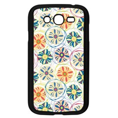 Flower Rainbow Fan Sunflower Circle Sexy Samsung Galaxy Grand Duos I9082 Case (black) by Mariart