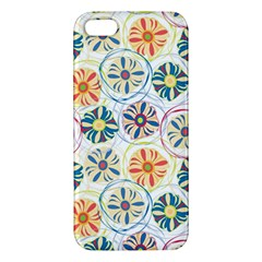 Flower Rainbow Fan Sunflower Circle Sexy Iphone 5s/ Se Premium Hardshell Case by Mariart