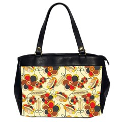 Flower Seed Rainbow Rose Office Handbags (2 Sides)  by Mariart