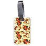Flower Seed Rainbow Rose Luggage Tags (One Side)  Front