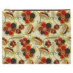 Flower Seed Rainbow Rose Cosmetic Bag (xxxl)  by Mariart