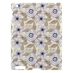 Flower Rose Sunflower Gray Star Apple Ipad 3/4 Hardshell Case by Mariart