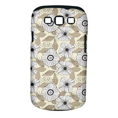 Flower Rose Sunflower Gray Star Samsung Galaxy S Iii Classic Hardshell Case (pc+silicone)