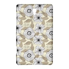 Flower Rose Sunflower Gray Star Samsung Galaxy Tab S (8 4 ) Hardshell Case  by Mariart