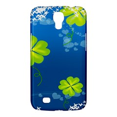 Flower Shamrock Green Blue Sexy Samsung Galaxy Mega 6 3  I9200 Hardshell Case by Mariart