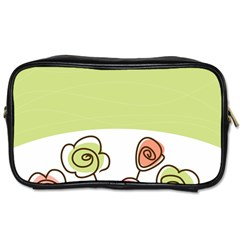 Flower Simple Green Rose Sunflower Sexy Toiletries Bags