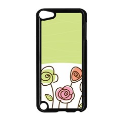 Flower Simple Green Rose Sunflower Sexy Apple Ipod Touch 5 Case (black) by Mariart