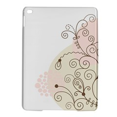 Flower Simple Pink Ipad Air 2 Hardshell Cases by Mariart
