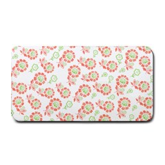 Flower Rose Red Green Sunflower Star Medium Bar Mats by Mariart