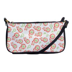 Flower Rose Red Green Sunflower Star Shoulder Clutch Bags by Mariart