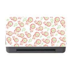 Flower Rose Red Green Sunflower Star Memory Card Reader With Cf