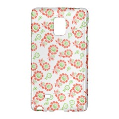 Flower Rose Red Green Sunflower Star Galaxy Note Edge by Mariart