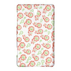 Flower Rose Red Green Sunflower Star Samsung Galaxy Tab S (8 4 ) Hardshell Case  by Mariart
