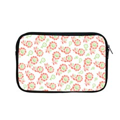 Flower Rose Red Green Sunflower Star Apple Macbook Pro 13  Zipper Case by Mariart