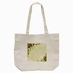 Flower Star Floral Green Camuflage Leaf Frame Tote Bag (cream) by Mariart