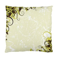 Flower Star Floral Green Camuflage Leaf Frame Standard Cushion Case (one Side) by Mariart