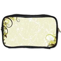 Flower Star Floral Green Camuflage Leaf Frame Toiletries Bags 2 Side by Mariart