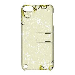 Flower Star Floral Green Camuflage Leaf Frame Apple Ipod Touch 5 Hardshell Case With Stand by Mariart