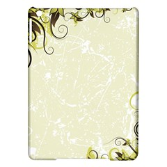Flower Star Floral Green Camuflage Leaf Frame Ipad Air Hardshell Cases by Mariart