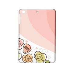 Flower Sunflower Wave Waves Pink Ipad Mini 2 Hardshell Cases by Mariart