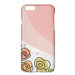 Flower Sunflower Wave Waves Pink Apple Iphone 6 Plus/6s Plus Hardshell Case