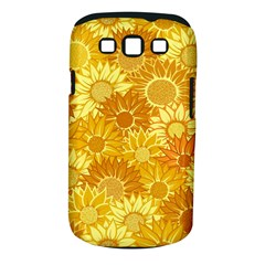 Flower Sunflower Floral Beauty Sexy Samsung Galaxy S Iii Classic Hardshell Case (pc+silicone) by Mariart