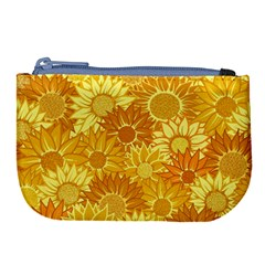 Flower Sunflower Floral Beauty Sexy Large Coin Purse by Mariart
