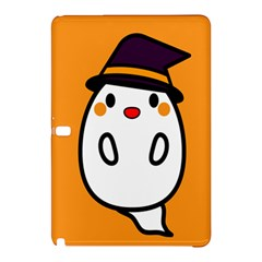 Halloween Ghost Orange Samsung Galaxy Tab Pro 12 2 Hardshell Case by Mariart