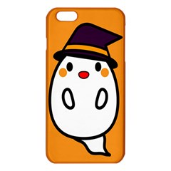 Halloween Ghost Orange Iphone 6 Plus/6s Plus Tpu Case by Mariart