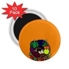 Healthy Vegetables Food 2 25  Magnets (10 Pack)  by Mariart
