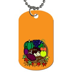 Healthy Vegetables Food Dog Tag (one Side)