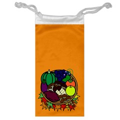 Healthy Vegetables Food Jewelry Bag by Mariart