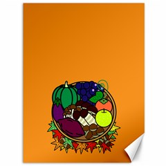 Healthy Vegetables Food Canvas 36  X 48   by Mariart