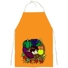Healthy Vegetables Food Full Print Aprons by Mariart