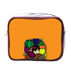 Healthy Vegetables Food Mini Toiletries Bags by Mariart