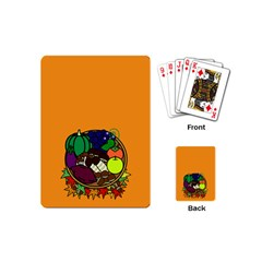 Healthy Vegetables Food Playing Cards (mini)  by Mariart
